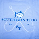 Southern Tide M's Short Sleeved Bald Head Island Inshore Fishing Tour T-Shirt