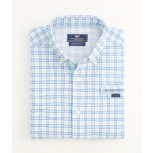Vineyard Vines Centerboard Check Harbor Shirt - Men's