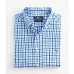 Vineyard Vines Beach Bar Check Linen Tucker Shirt - Men's
